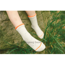 Loose Cuff algodão colorido boa qualidade menina meias de algodão preço competitivo