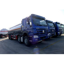 Fuel Tanker Truck  HOWO Oil Transportation 8X4