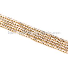 Fashion High Quality Metal Rhinestone Chain Bulk