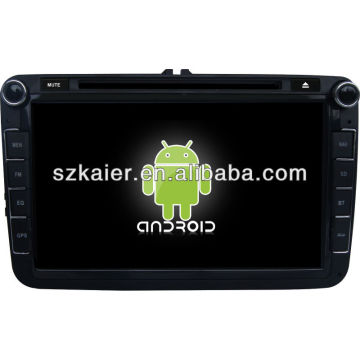 Android System Auto DVD Player für VW Magotan mit GPS, Bluetooth, 3G, iPod, Spiele, Dual Zone, Lenkradsteuerung