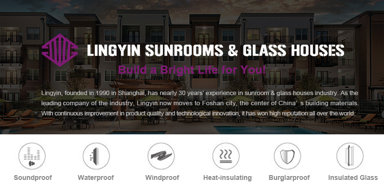Lingyin construction materials ltd glass room