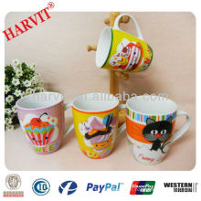 Tasse à café unique en céramique avec bande / Thermos à usage quotidien pour produits à base de lait / 2014 Cadeaux de la Coupe du monde Fifa