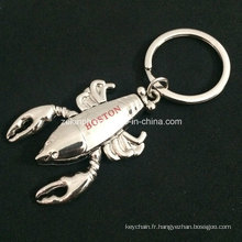 Porte-clés Mobile homard 3D personnalisé avec Logo imprimé pour la Collection