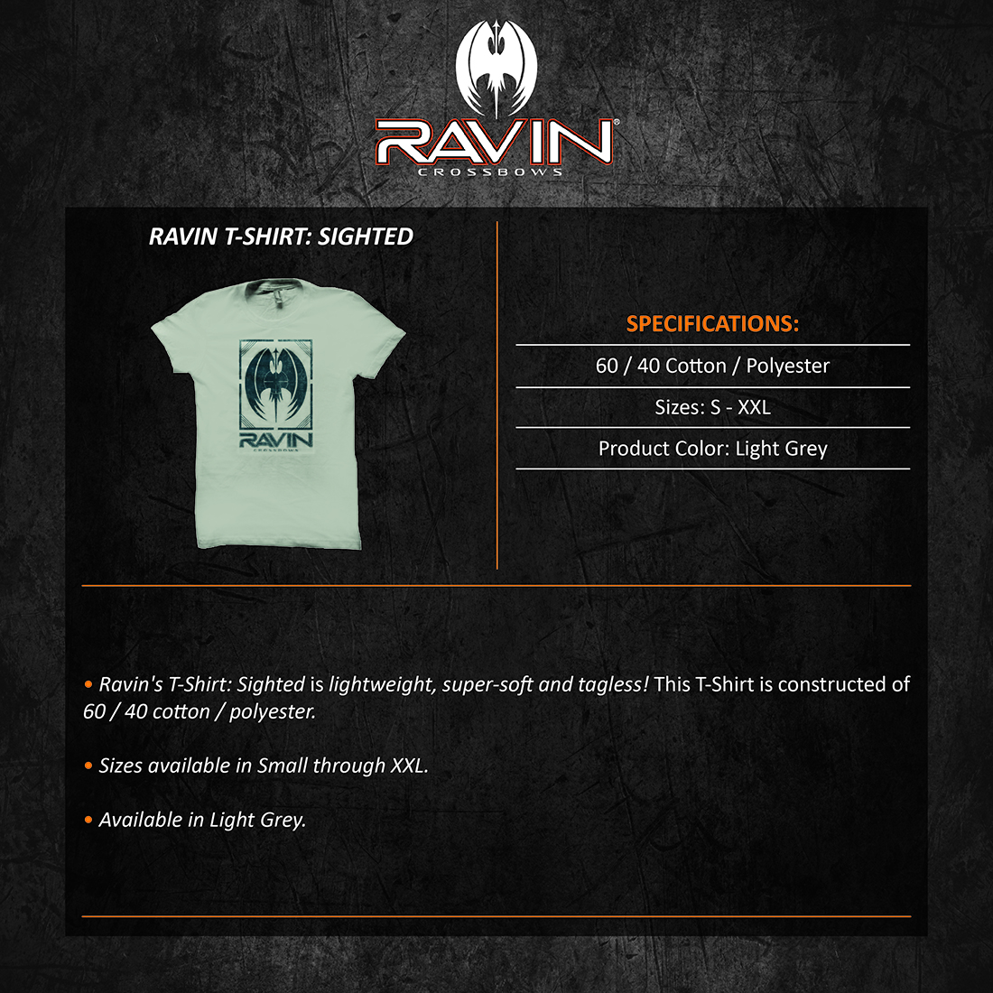 Ravin_Tshirt_Sighted_Product_Description