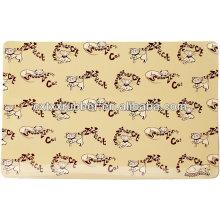 Tapas de tela de caucho de alimentación superior para perros, esteras gato de alimentación Reino Unido