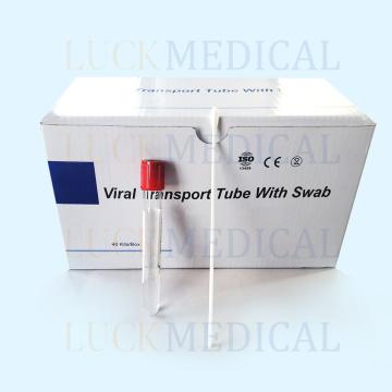 Collection d'échantillons de kit de transport viral jetable
