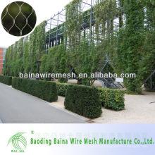 Valla de protección artificial para muro verde