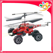 infrared 3CH helicopter/rc car can missile launch shooting rc helicopter&car