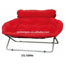 Chaise pliante à double siège pliante
