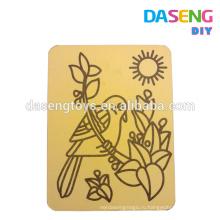 Бумага для рисования песка для детей без песка
