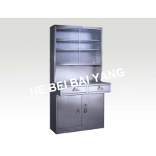(C-7) Шкаф для медикаментов из нержавеющей стали с ящиками