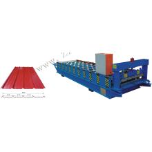 placa de aço rolamento máquina trapézio chapas dá forma à máquina