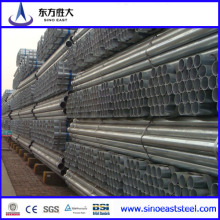 Pre-Galvanized Steel Tube (BS1387) Made in China