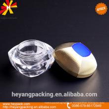 Frasco de creme cosmético acrílico em estoque