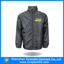 Custom Black Fashion Men′s Fleece Jackets with Competitive Price