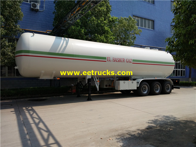Propane Gas Truck Semi Trailers