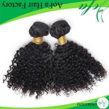 Высокое Качество Стильный Глубокая Волна Виргинские Kinky Курчавые Волосы