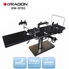 DW-OT03 mesa de operación portátil mesa de los fabricantes de equipos de quirófano mesa ordinaria opreating