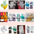 Industrial Short Rindsleder Arbeitshandschuhe, Sicherheits-Arbeitshandschuhe, 10,5''patched Palm Leder Handschuhe, Kuh Split Leder Voll Palm Handschuh, Fahrer Handschuhe