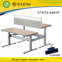 Wooden study table designs & good sale height adjustable desk leg with popular products in global market