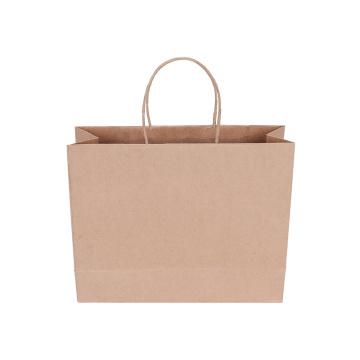 Kraft Paper Twist Handle Promotional Christmas Gift Bag