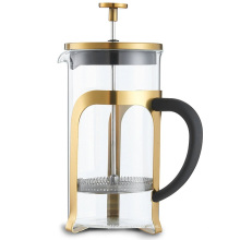 Amazon New Style vidrio resistente al calor francés prensa café émbolo