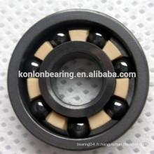 Matériau Si3N4 6204 6205 roulement à billes en céramique complète