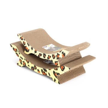 U shape cat scratcher corrugated