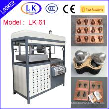 Máquina de termoformagem de plástico em concha