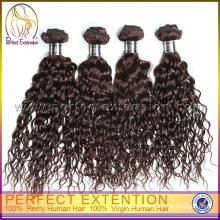 Рождество фигурных 100% Виргинские оптовые человеческие волосы Перуанский волосы ткачество