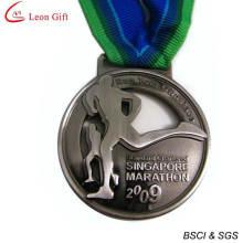 Medalha de maratona personalizado barato de fábrica (LM1252)