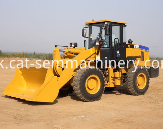 Brand 3 Tons Wheel Loader Sem636b