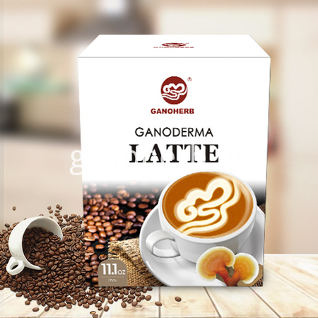 3 in 1 Instant Coffee Latte Coffee Powder Mixed with Ganoderma Lucidum Reishi Extract Powder …