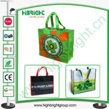 Bolso de compras no tejido de la promoción de alta calidad
