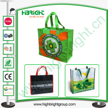 Promoção de alta qualidade não tecido saco de compras