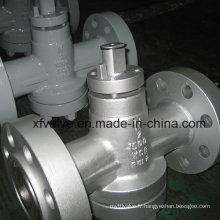 Vanne à fiche manuelle en acier inoxydable Standard Steel Wcb ANSI