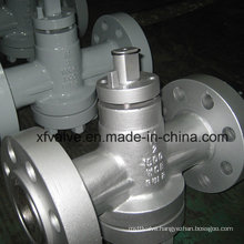 ANSI Standard Cast Steel Wcb Manual Plug Valve