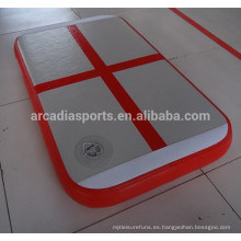 Bloque de aire superventas con Cross Line Inflatable Gym Air Board para niños