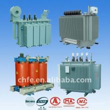Alta eficiencia eléctrica distribución transformador trifásico