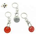 Promotional custom design cheap promotional emoji metal game tokens