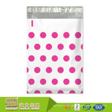 Günstigen Preis Durable Waterproof Benutzerdefinierte Polka Dots Designer Kunststoff Versand Verpackung Kleidungsstück Poly Bag
