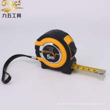 co-molded rubber case steel measuring tapes for sale