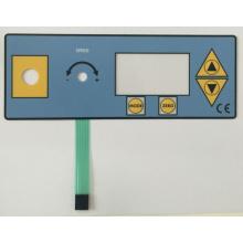 Circuito del teclado de control Interruptor de membrana del teclado de superposición de impresión