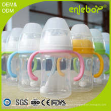 BPA Free Polypropylene Natural Flow Newborn Baby Feeder Baby Bottle