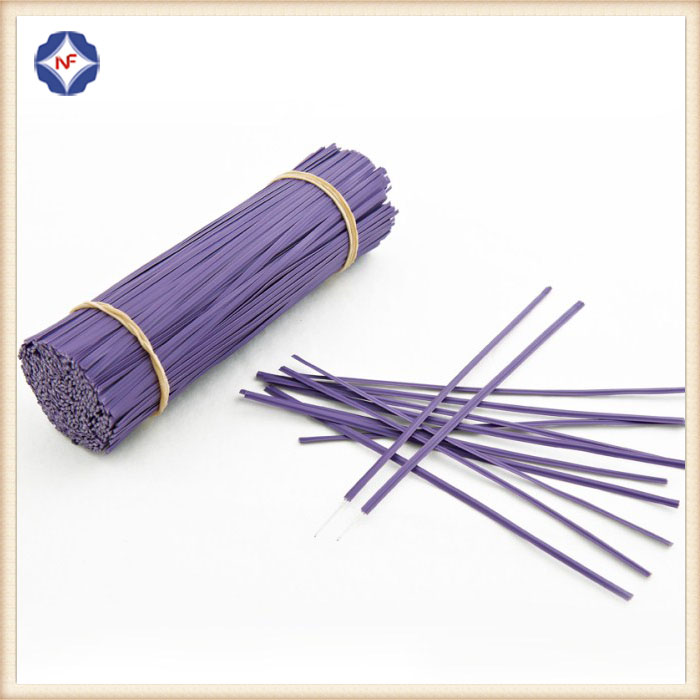 Customized Pre-cut Plastic Single Wire Twist Tie