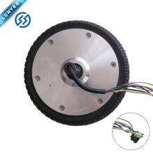 Magnetic Brake design 6 Inch Brushless Gearless Both Side Shaft Hub Motor Wheel