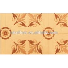 Piso de madeira Parquet elegante piso de madeira engenharia