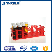 Red Vial Rack para EPA VOA Vial