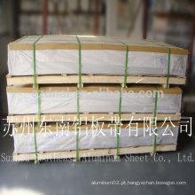 Folha de alumínio 6061 fornecedores de China T6