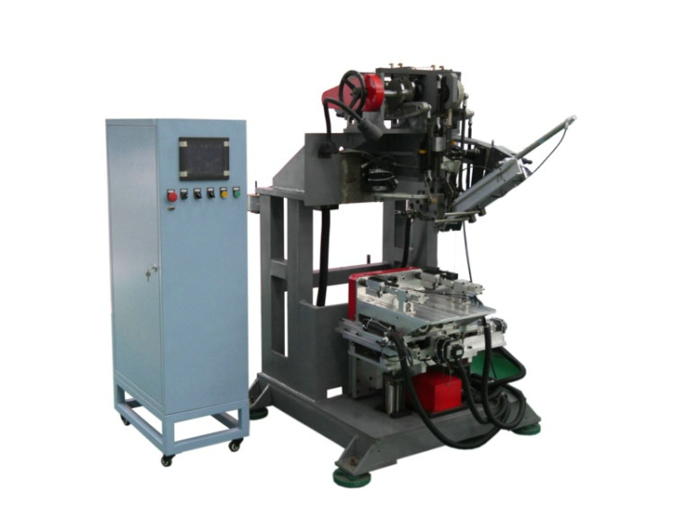 4 Axis Flat Wire Brush Machine